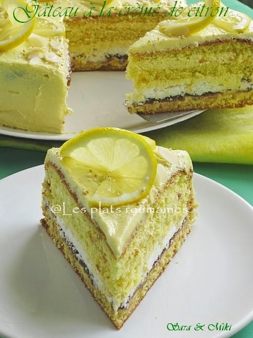 Recette gateau creme de citron