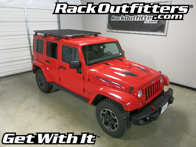 rack install pioneer jeep outfitters base wrangler roof backbone rhino unlimited platform