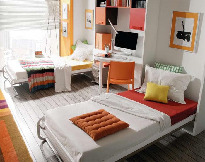 Detalle cama abatible vertical abierta - Camas abatibles madrid ...