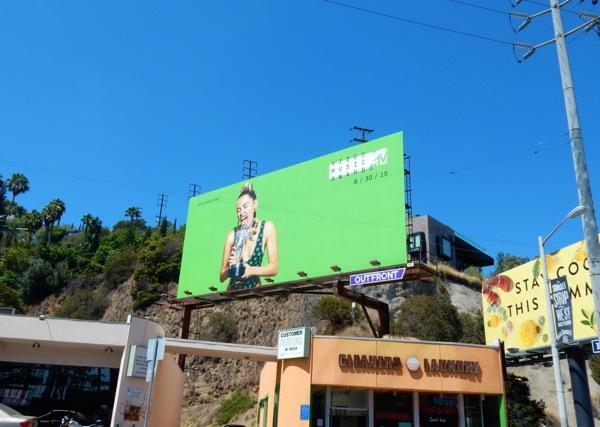 Miley Cyrus MTV Video Music Awards billboard