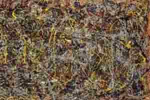 картина Джексона Поллока «Номер 5»