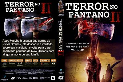 Filme Terror no Pântano 2 DVD Capa
