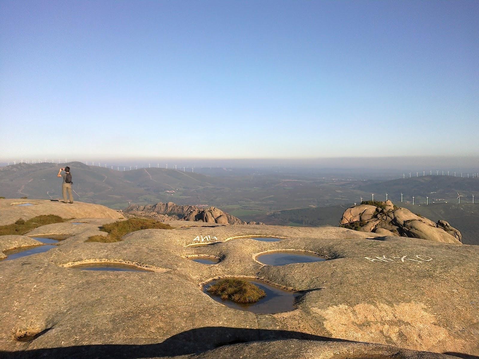 A Moa en el Monte Pindo