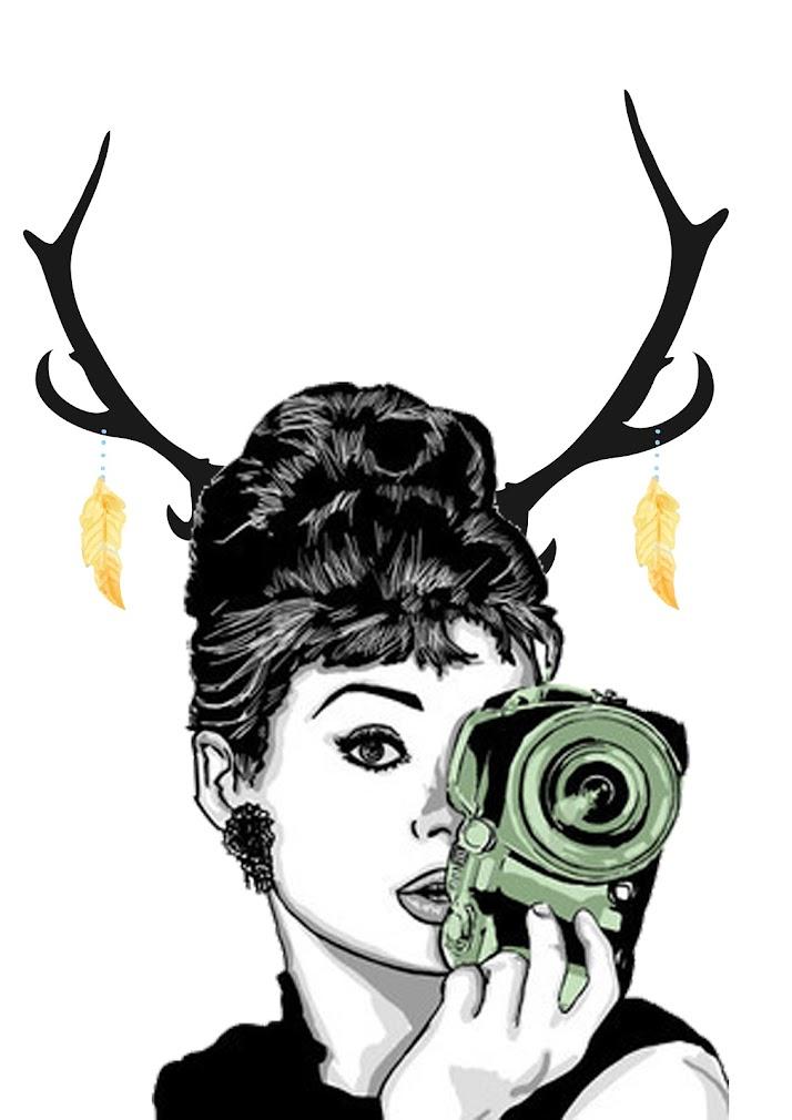 Lámina Audrey