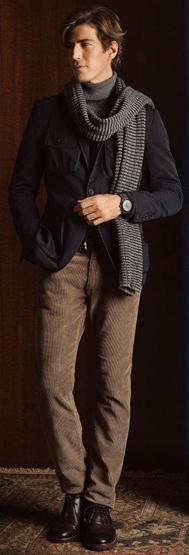 Massimo Dutti hombre lookbook diciembre