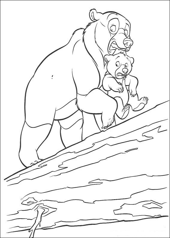 posted in brother bear coloring pages - Brother Bear Moose Coloring Pages