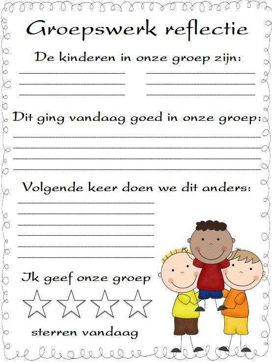 Juf lenny for Werkbladen spelling groep 4