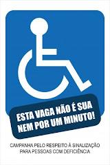 O INCLUA-SE! apóia esta campanha. Saiba mais clicando na imagem.