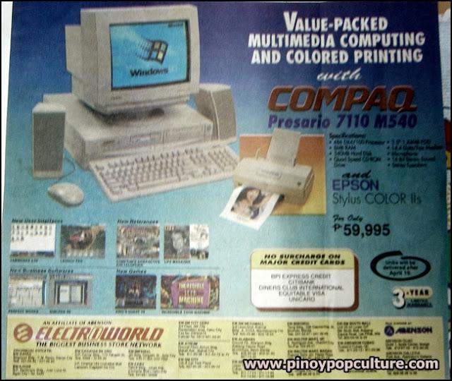 personal computers, Compaq Presario, 1990s