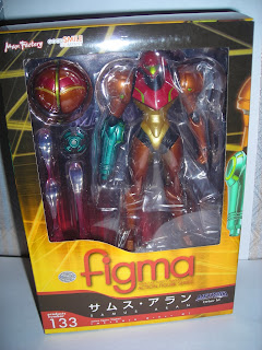 Figma Samus' packaging front view
