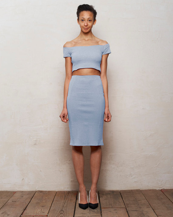 diy midi dress to crop top and midi skirt dapper darko