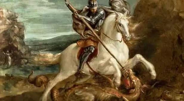 Μετά από αρκετές αισχρές αναρτήσεις για τον Άγιο Γεώργιο ήρθε η ώρα για ένα ακόμα παραμύθι με ιππότες,δράκους και μάγισσες.
