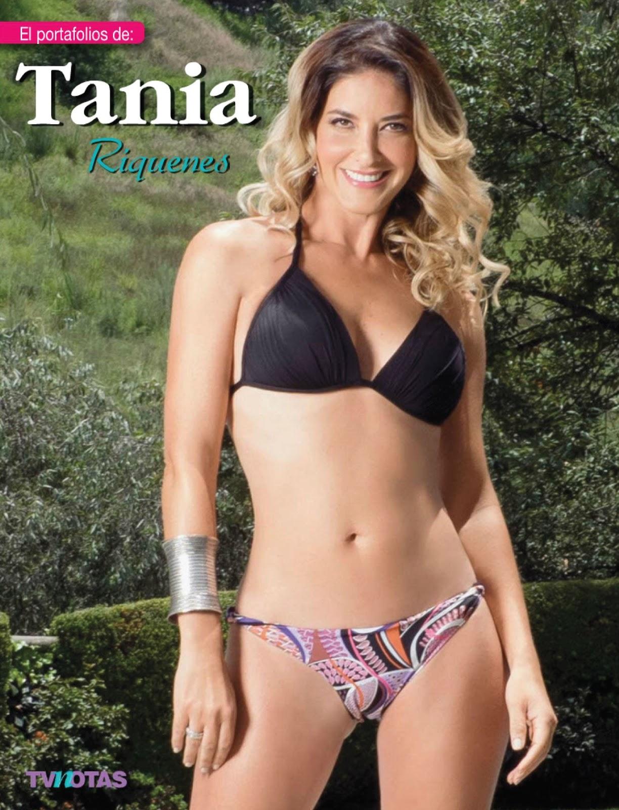 FOTOS: Tania Riquenes Bikini Tvnotas - Septiembre 2015