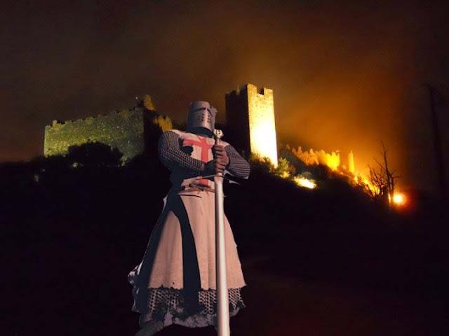 La leyenda del Castillo de Cornatel y el caballero templario