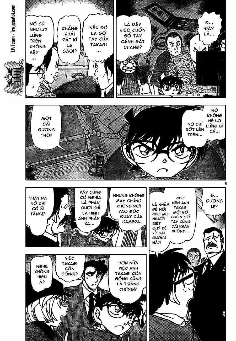 Thám Tử Lừng Danh Conan - Chapter 808 - Pic 5