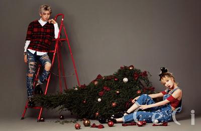 Hyuna Hyunseung - CeCi December 2013
