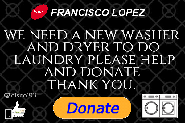 I.  Francisco is in need of a new Washer and Dryer