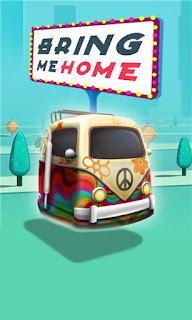 Screenshots of the Bring me home: Retro future for Android tablet, phone.