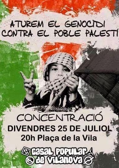 Aturem el Genocidi contra #Gaza