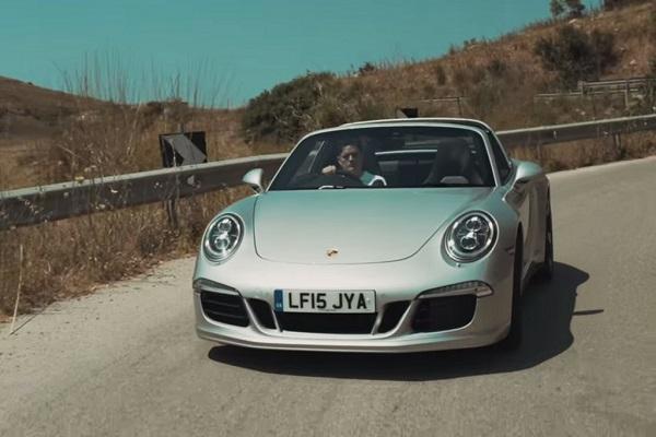 Porsche 911 Targa 4S Mayfair Edition