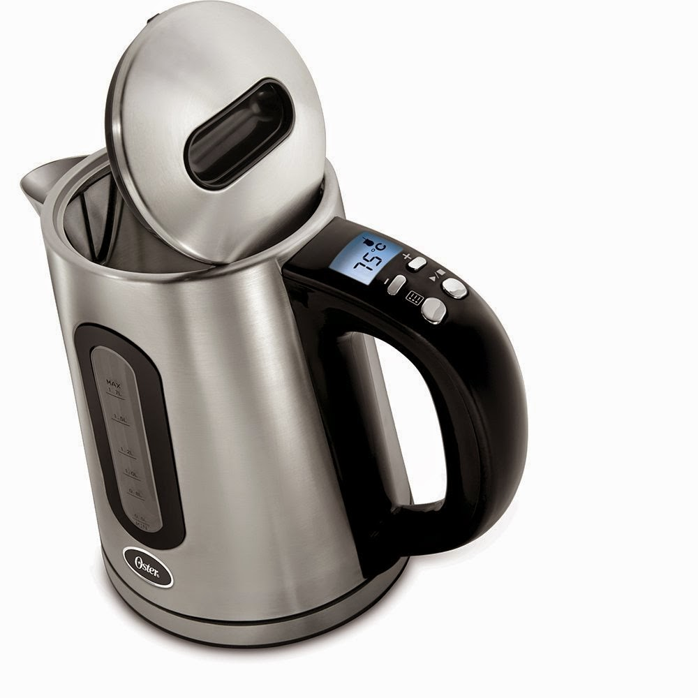 Amazon: Buy Oster  1.7-Litre 2150-Watt Stainless Steel Kettle at Rs. 1425 with Digital Temperature Contro