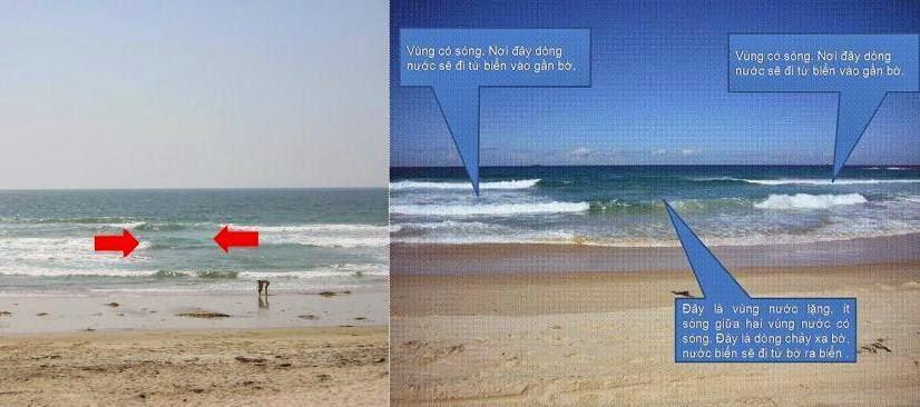 10 kinh nghiệm và lưu ý khi du lịch biển dòng chảy xa bờ