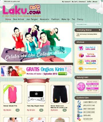 belanja online murah hanya di Laku.com