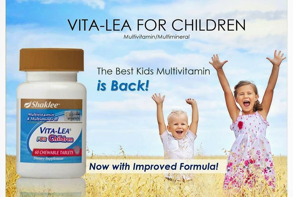 Multivitamin terbaik untuk anak kita