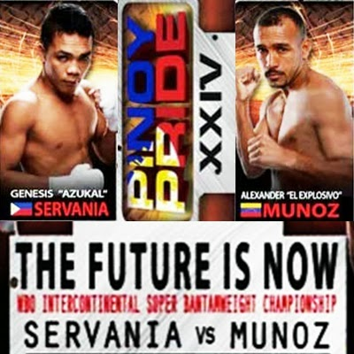 Pinoy Pride 24 Results: Servania Beats Munoz via 12th Round TKO