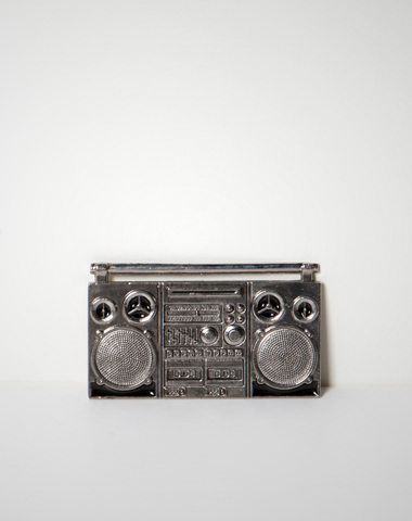 Boom Box Belt Buckle