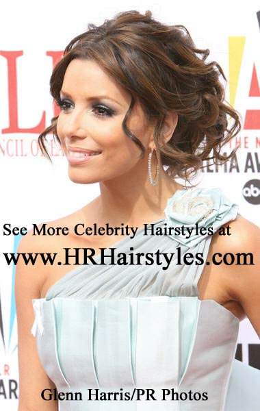 easy up do hairstyles. Eva Longoria Hairstyles