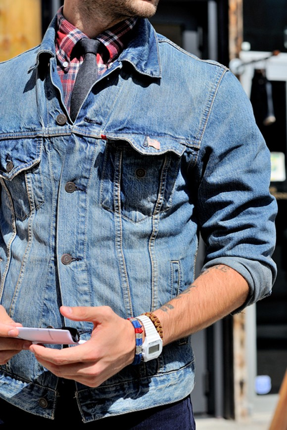 MANtoMEASURE: Back in Style: Denim Jacket - 7 ways to wear ...