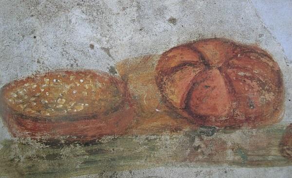 L 39 albero della gastronomia il pane nell 39 arte dal for Cibo romano