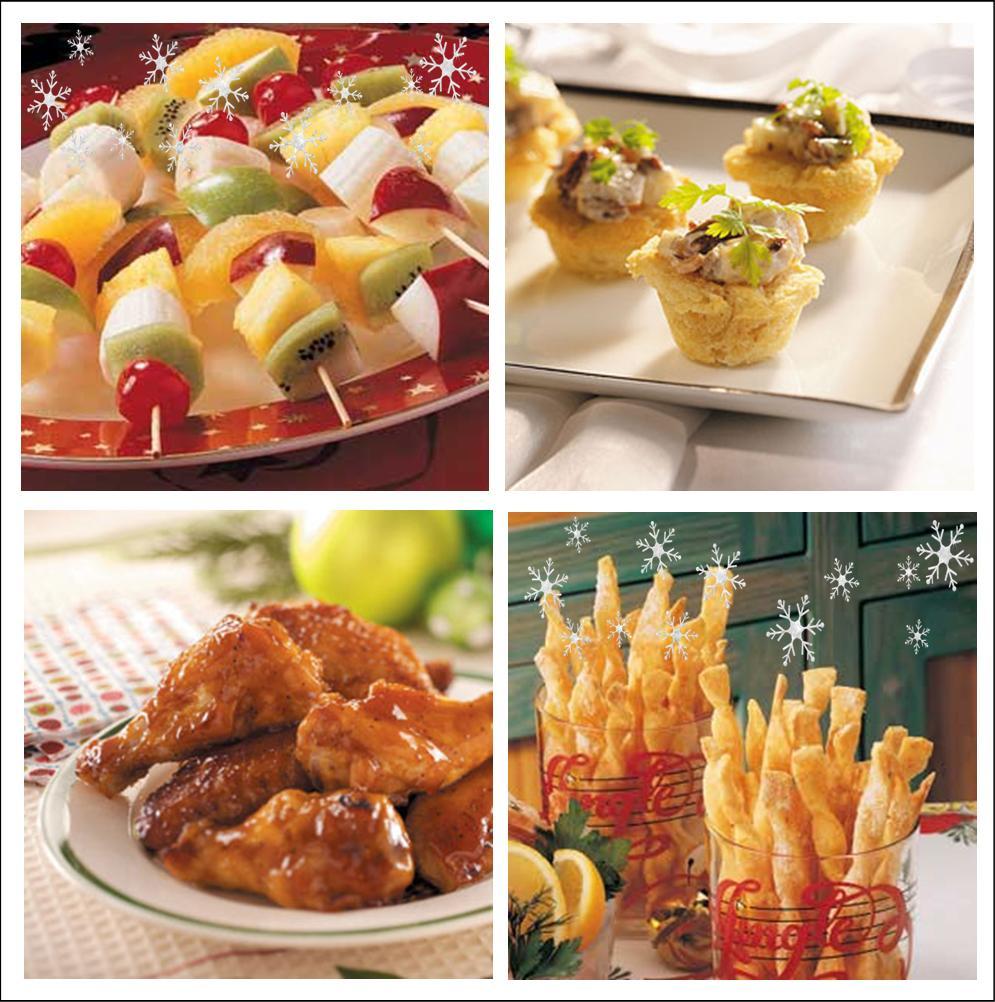 Festive Christmas Appetizers