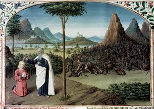 Samuel Discovers and Anoints David
