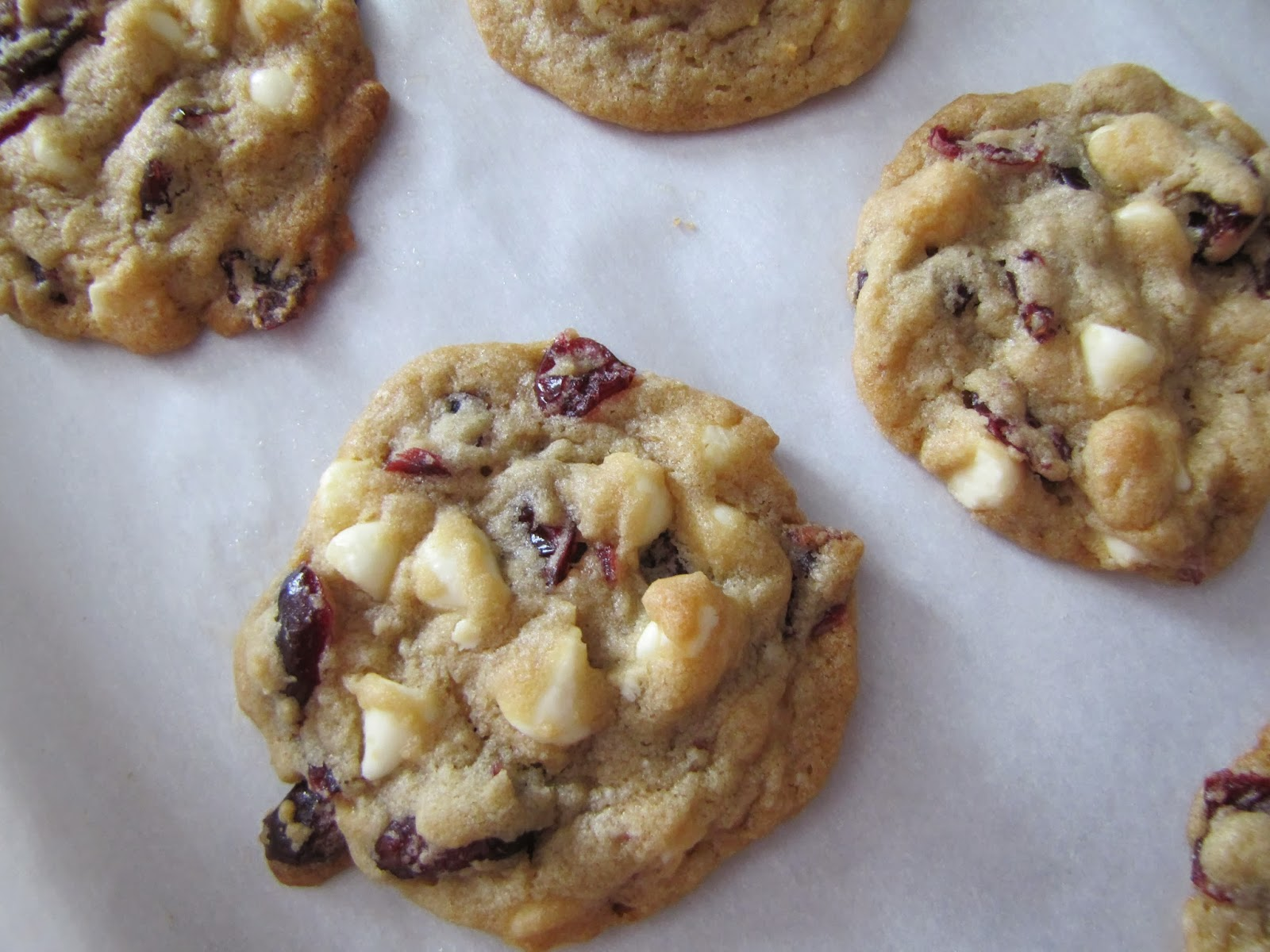 White Chocolate Chip Cranberry Cookies Cranberry- white chocolate