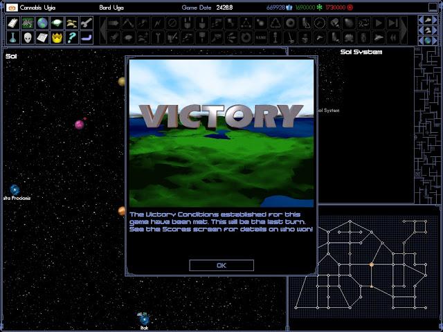 Space Empires 4 - Victory Description