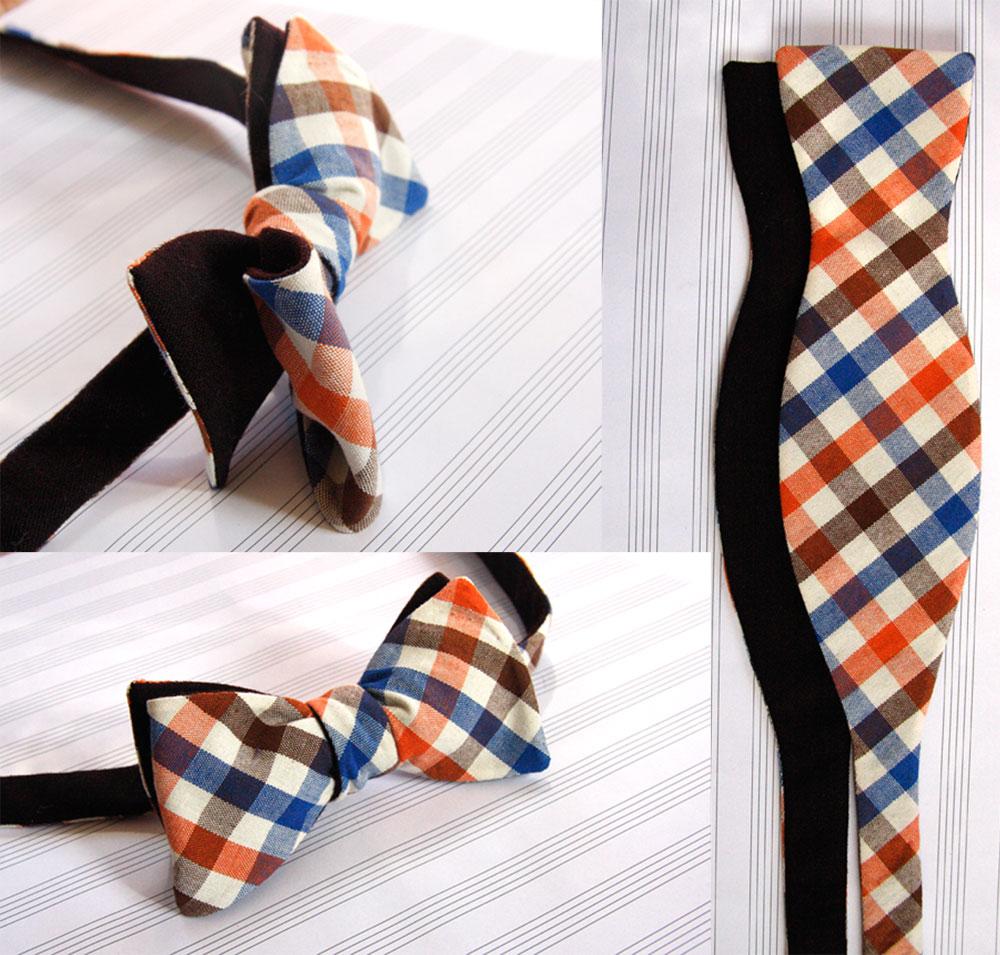Как делать бабочку галстук