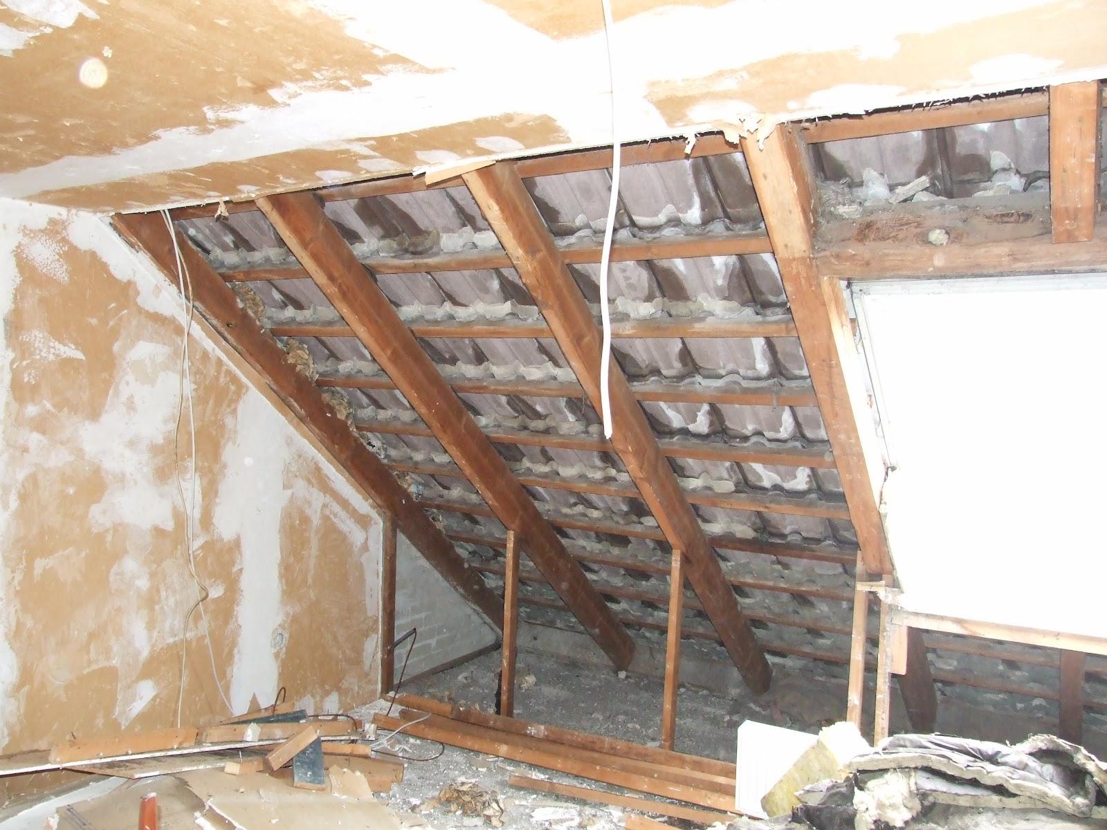 das dach ist auf unser reihenh uschen. Black Bedroom Furniture Sets. Home Design Ideas