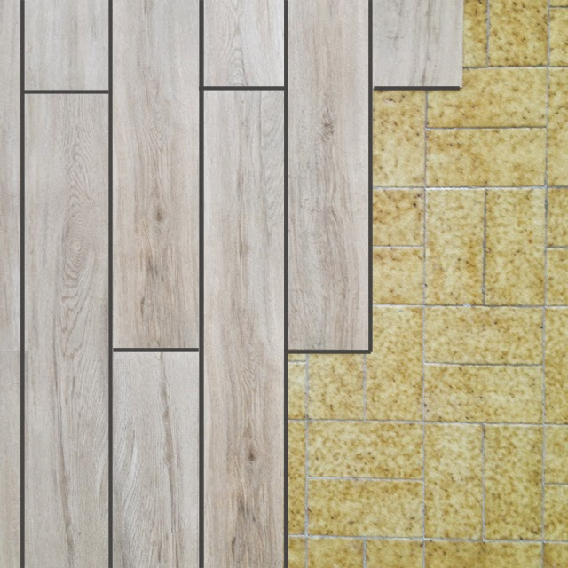 Diy el cambio del suelo de mi casa con las laminas de - Poner papel pared ...