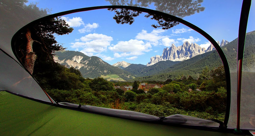 This Special Tent Lets You Experience The Magic Of Hanging From High Places.
