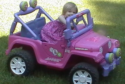 Barbie Jeep Daddy Found!!!
