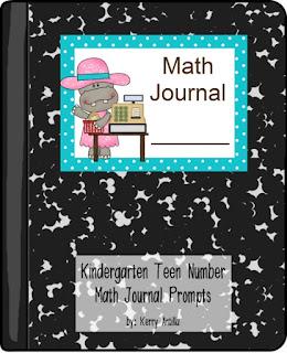 https://www.teacherspayteachers.com/Product/Kindergarten-Teen-Number-Math-Journal-Prompts-1642192