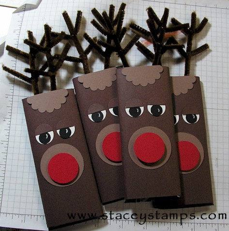 Crafts in the Classroom: Rudolph the Reindeer Candy Bar