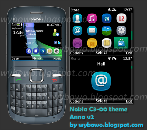 Nokia C3 All Themes Download Mobile Phones Anna V2 Theme