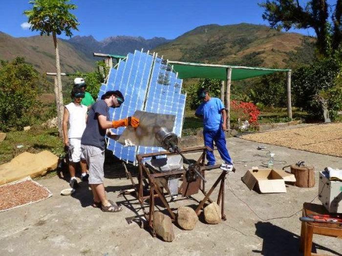 Intikallana, Tostador Solar de Café Hecho en Perú