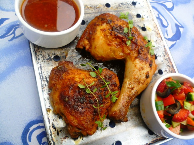 Marmaduke Scarlet: smoked paprika and rosemary roast chicken