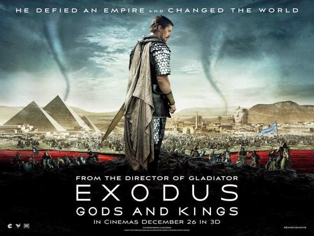 Film Exodus: Gods and Kings (2014) Movie Poster Cover