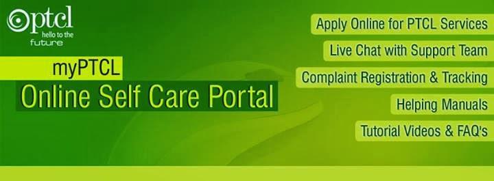 PTCL launches Online Self Care Portal.