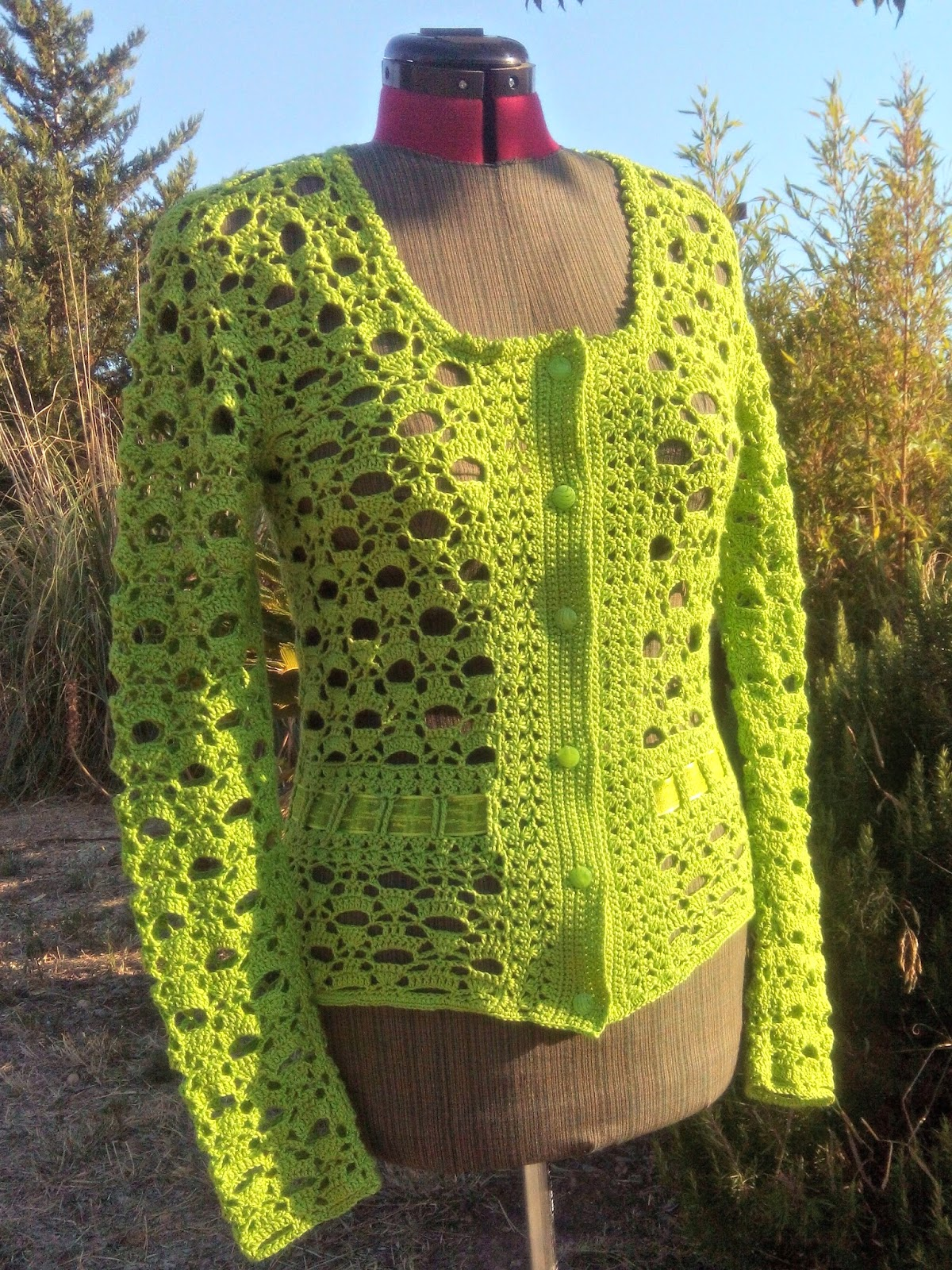 Cosir coser sewing chaqueta de crochet - Dibujos de ganchillo ...